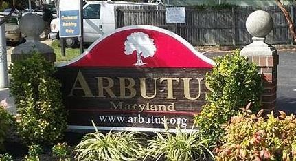 Arbutus sign