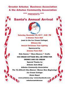 Santa's Arrival! @ Arbutus Town Hall | Halethorpe | Maryland | United States