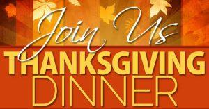 Grace Reformed Presbyterian Church Thanksgiving Dinner @ FOP Lodge | Catonsville | Maryland | United States