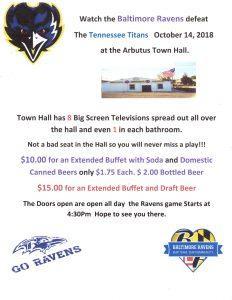 Ravens vs. Titans @ Arbutus Town Hall | Halethorpe | Maryland | United States