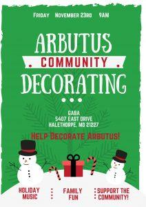 Arbutus Community Decorating @ GABA | Halethorpe | Maryland | United States