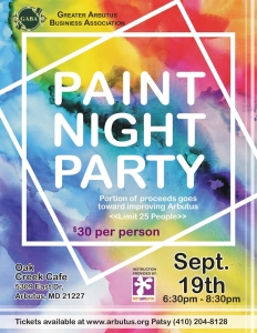 Paint Night Party @ Oak Creek Cafe | Halethorpe | Maryland | United States