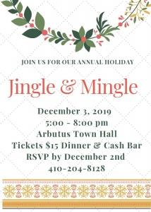 Jingle and Mingle @ Arbutus Town Hall | Halethorpe | Maryland | United States