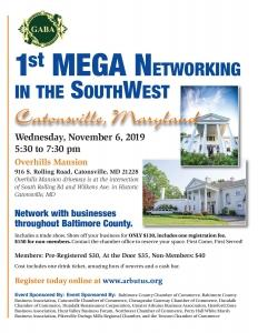 1st Mega Networking Event @ Overhills Mansion | Catonsville | Maryland | United States