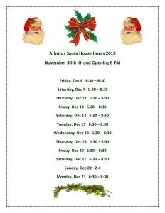 Santa House @ Arbutus Town Hall | Halethorpe | Maryland | United States