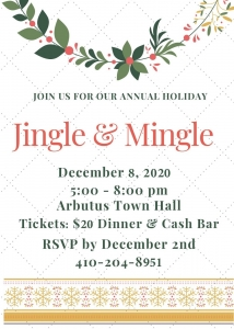Jingle & Mingle @ Arbutus Town Hall | Baltimore | Maryland | United States